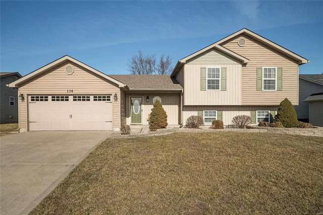 134 Intrepid Avenue, Wentzville, MO 63385 (#21004002) :: Parson Realty Group