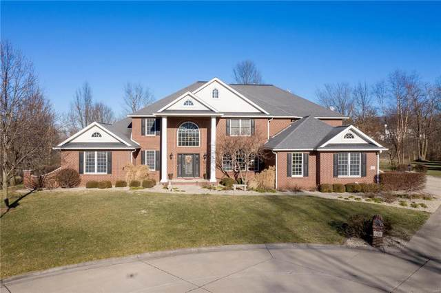 2922 Titleist Drive, Belleville, IL 62220 (#21004490) :: Fusion Realty, LLC