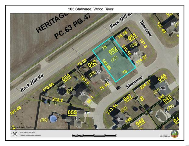 103 Shawnee, Wood River, IL 62095 (#21004526) :: Tarrant & Harman Real Estate and Auction Co.