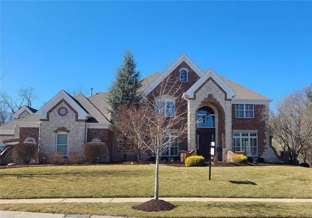 16836 Eagle Bluff Court, Chesterfield, MO 63005 (#21005149) :: RE/MAX Professional Realty