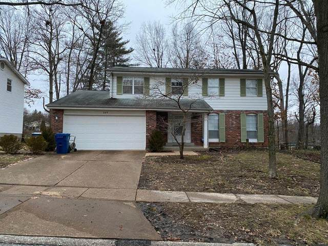 269 Oak Path Drive, Ballwin, MO 63011 (#21007158) :: Tarrant & Harman Real Estate and Auction Co.
