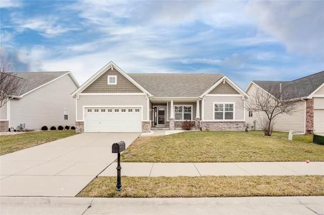 2736 Cheyenne Wells Drive, Shiloh, IL 62221 (#21007330) :: Hartmann Realtors Inc.