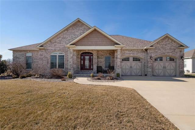 62 Woodcrest Drive, Bethalto, IL 62010 (#21007723) :: Tarrant & Harman Real Estate and Auction Co.
