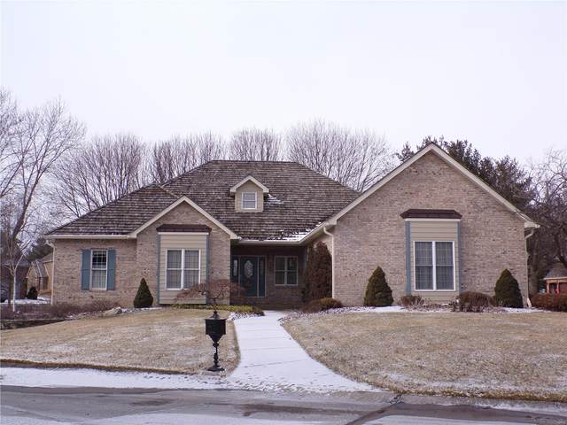 8 Bronte Court, Glen Carbon, IL 62034 (#21008277) :: Hartmann Realtors Inc.