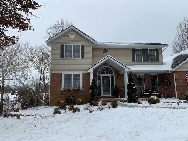 5135 Riverwoods Ln., Godfrey, IL 62035 (#21009356) :: Tarrant & Harman Real Estate and Auction Co.