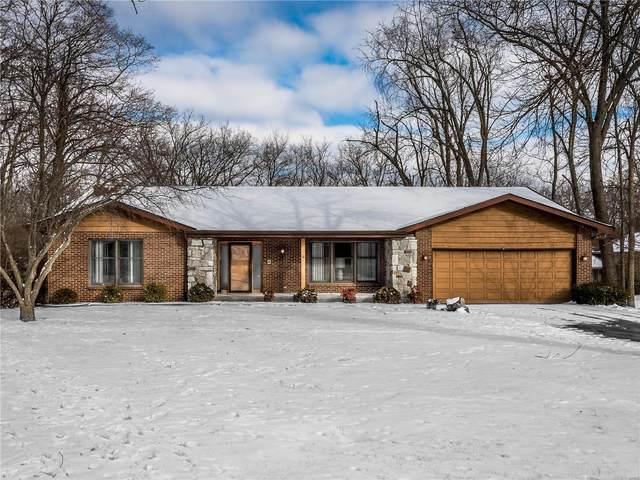 18 Ginger Ridge, Glen Carbon, IL 62034 (#21009434) :: Hartmann Realtors Inc.
