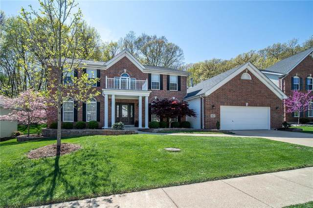 911 Castle Pines Drive, Ballwin, MO 63021 (#21009589) :: Clarity Street Realty