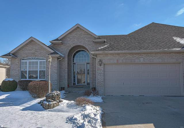 44 Ginger Creek Parkway, Glen Carbon, IL 62034 (#21009753) :: Matt Smith Real Estate Group