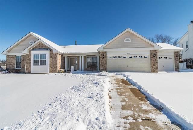 1516 Woodbury Drive, Dardenne Prairie, MO 63368 (#21010141) :: Parson Realty Group