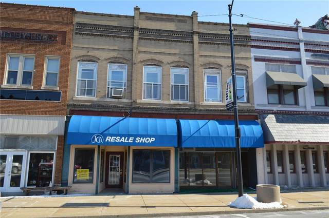107 N State Street 109 A & B, Jerseyville, IL 62052 (#21010624) :: Tarrant & Harman Real Estate and Auction Co.