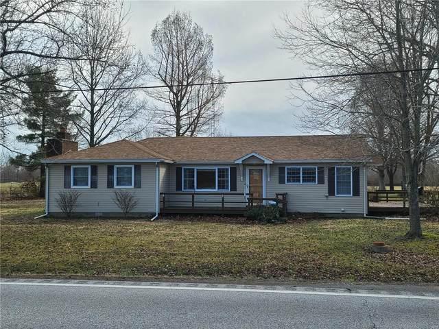 14808 State Highway 149, WEST FRANKFORT, IL 62896 (#21010859) :: Jeremy Schneider Real Estate