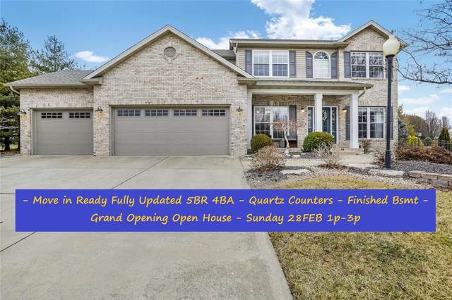 23 Rose Court, Glen Carbon, IL 62034 (#21010994) :: Fusion Realty, LLC