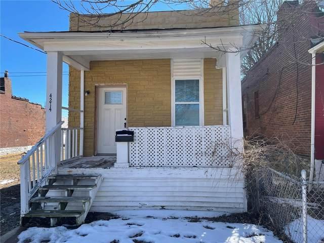 4214 Vista Avenue, St Louis, MO 63110 (#21011148) :: Reconnect Real Estate