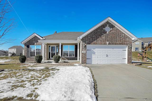 32 Sonnet Ct, Wentzville, MO 63385 (#21011302) :: Clarity Street Realty