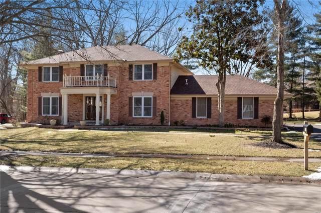 1731 Lochcrest, Chesterfield, MO 63017 (#21011403) :: Jeremy Schneider Real Estate