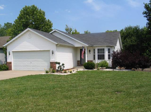 216 Bayhill Boulevard, Glen Carbon, IL 62034 (#21011623) :: Hartmann Realtors Inc.