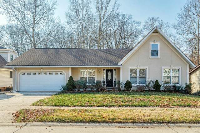 1287 Hidden Oak Road, Chesterfield, MO 63017 (#21011742) :: St. Louis Finest Homes Realty Group