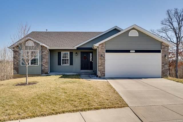 457 Ramblewood Way, Wentzville, MO 63385 (#21011773) :: Kelly Hager Group | TdD Premier Real Estate