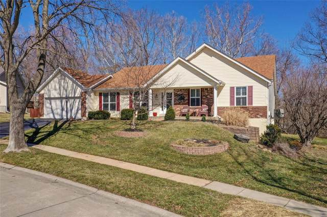 14817 Grantley Drive, Chesterfield, MO 63017 (#21012188) :: Parson Realty Group