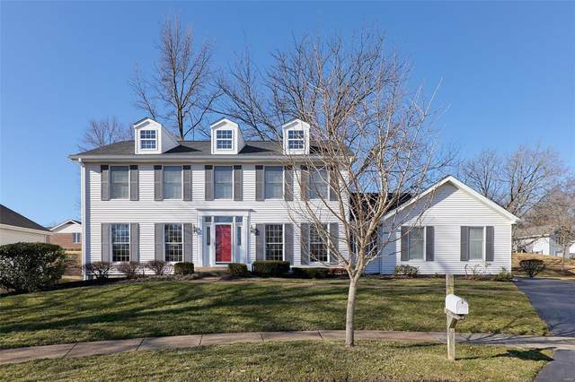 1907 Dovercliff Court, Chesterfield, MO 63017 (#21012593) :: RE/MAX Vision