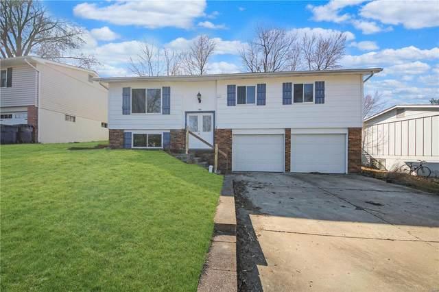 1119 Saratoga Drive, Saint Charles, MO 63303 (#21012798) :: Jeremy Schneider Real Estate