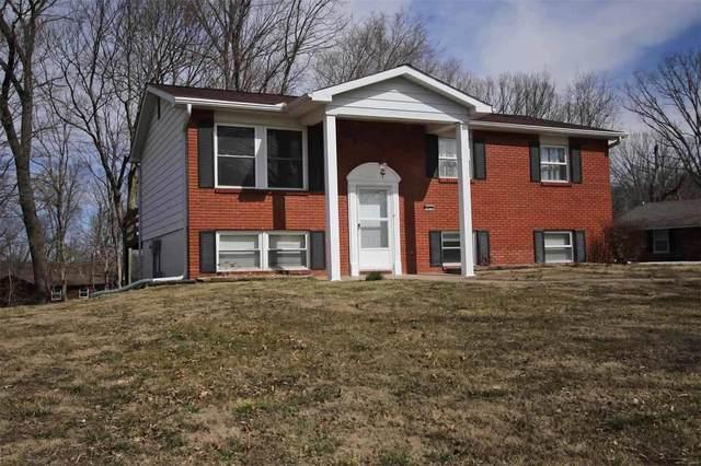 5826 Deer Trail, Godfrey, IL 62035 (#21013308) :: Realty Executives, Fort Leonard Wood LLC