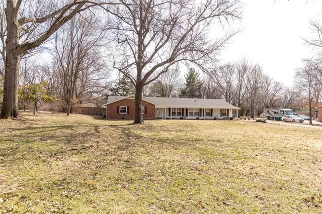 12100 Bridle Trail Lane, St Louis, MO 63128 (#21013868) :: Century 21 Advantage