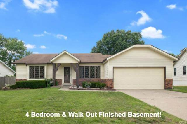 1972 Driftwood Trails Drive, Florissant, MO 63031 (#21015231) :: Parson Realty Group