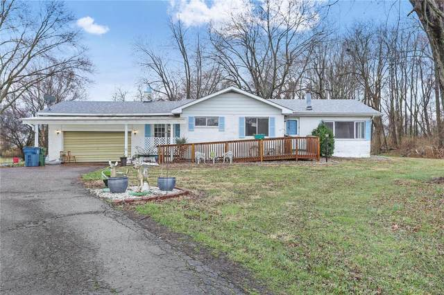 7343 W Main Street, Maryville, IL 62062 (#21015367) :: Tarrant & Harman Real Estate and Auction Co.