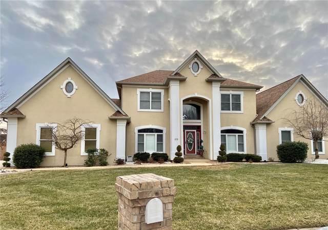 189 Berringer Drive, O'Fallon, IL 62269 (#21016455) :: Matt Smith Real Estate Group