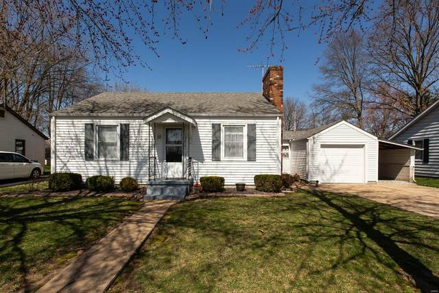 1213 Eisenhower Road, Mascoutah, IL 62258 (#21017597) :: Fusion Realty, LLC