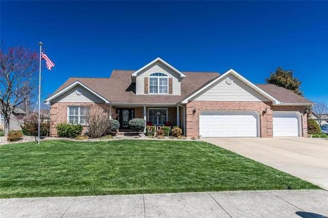 9629 Winchester Street, Mascoutah, IL 62258 (#21017973) :: Clarity Street Realty