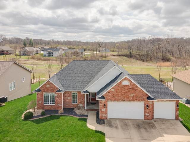 124 Stonebridge Crossing Dr, Maryville, IL 62062 (#21018962) :: Tarrant & Harman Real Estate and Auction Co.