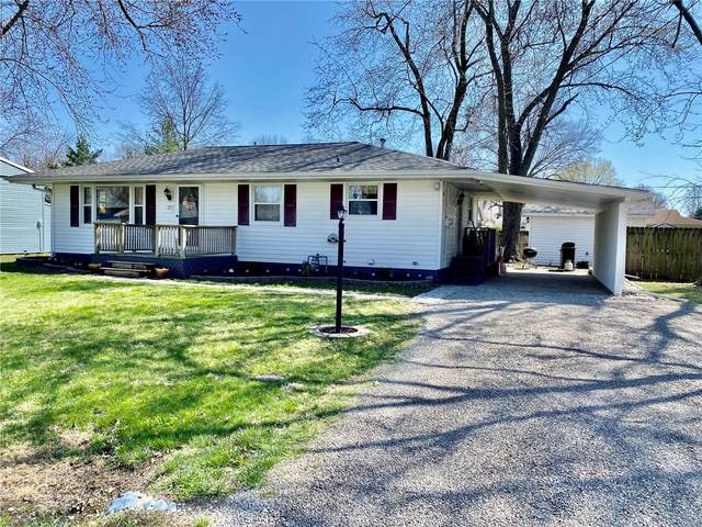 207 Edwin, Brighton, IL 62012 (#21020186) :: Tarrant & Harman Real Estate and Auction Co.