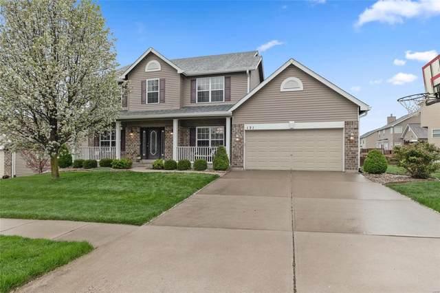 131 Prairie Bluffs Drive, Wentzville, MO 63385 (#21020661) :: Kelly Hager Group | TdD Premier Real Estate