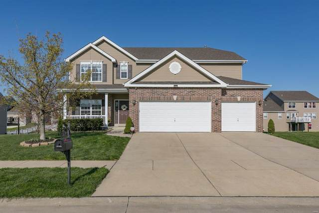 1204 Meadowview Lane, Shiloh, IL 62221 (#21021157) :: St. Louis Finest Homes Realty Group