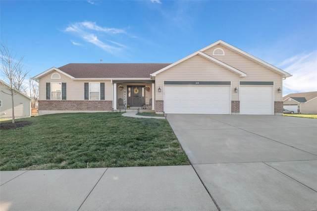 306 Cimarron Valley Trail, Wentzville, MO 63385 (#21021292) :: Kelly Hager Group | TdD Premier Real Estate