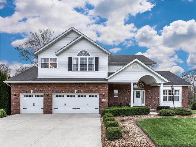 41 Wolfe Creek Court, Glen Carbon, IL 62034 (#21021558) :: Fusion Realty, LLC