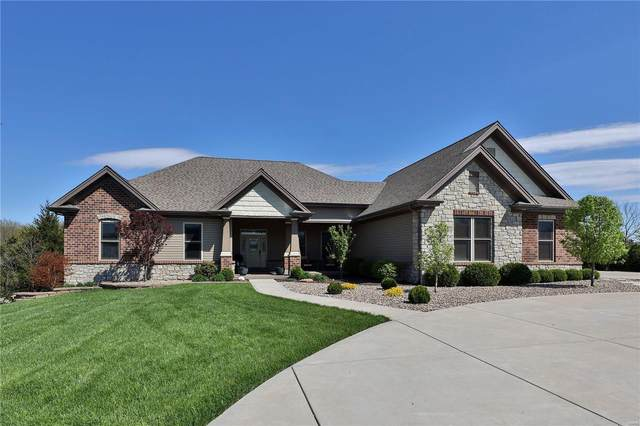 306 Foristell Manors Drive, Foristell, MO 63348 (#21021594) :: Parson Realty Group