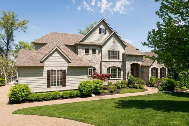 18255 Canyon Forest Court, Chesterfield, MO 63005 (#21021699) :: Parson Realty Group