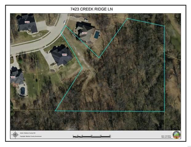 7423 Creek Ridge Lane, Edwardsville, IL 62025 (#21021858) :: Fusion Realty, LLC