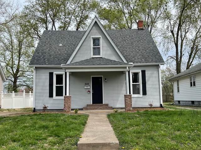 505 Wadsworth Street, Collinsville, IL 62234 (MLS #21021866) :: Century 21 Prestige