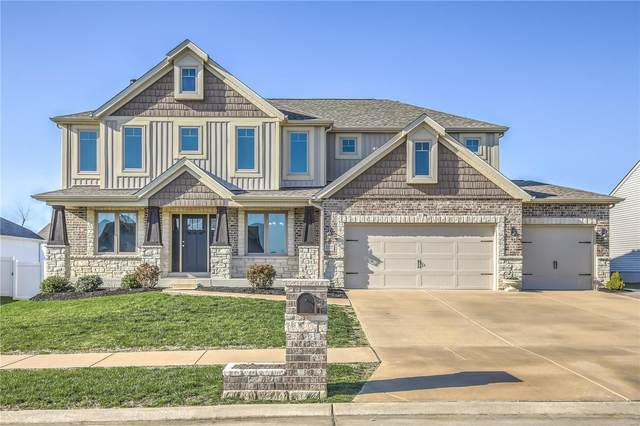 1111 William Penn Drive, Wentzville, MO 63385 (#21022093) :: Kelly Hager Group | TdD Premier Real Estate