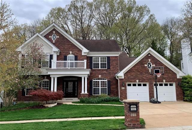 877 Castle Pines Drive, Ballwin, MO 63021 (#21022261) :: PalmerHouse Properties LLC