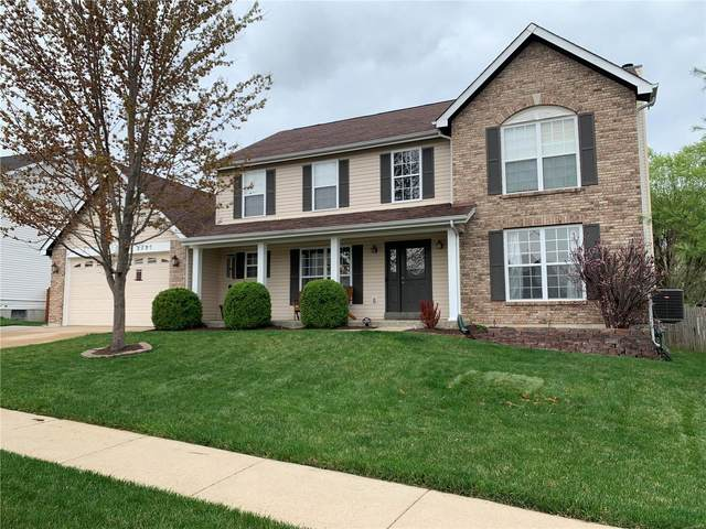 2057 Lick Creek Drive, Wentzville, MO 63385 (#21022317) :: Kelly Hager Group | TdD Premier Real Estate