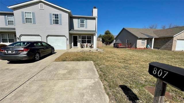 807 Oxen Drive, Shiloh, IL 62221 (#21022532) :: Fusion Realty, LLC