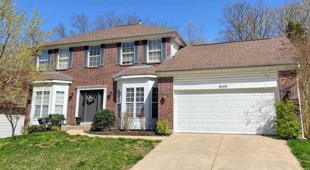 608 Legends View, Eureka, MO 63025 (#21022777) :: The Becky O'Neill Power Home Selling Team