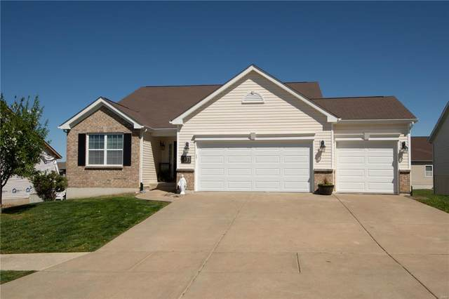 833 Railway Circle, Wentzville, MO 63385 (#21023112) :: Tarrant & Harman Real Estate and Auction Co.