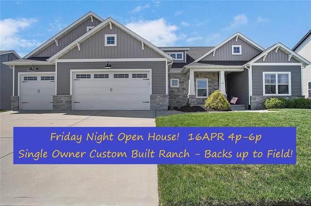 62 Oakshire Drive, Glen Carbon, IL 62034 (#21023115) :: Fusion Realty, LLC