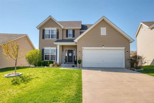 502 Pecan Bluffs, Wentzville, MO 63385 (#21023144) :: Kelly Hager Group   TdD Premier Real Estate